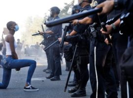 usa proteste polizia