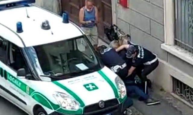 gallarate polizia locale abusi