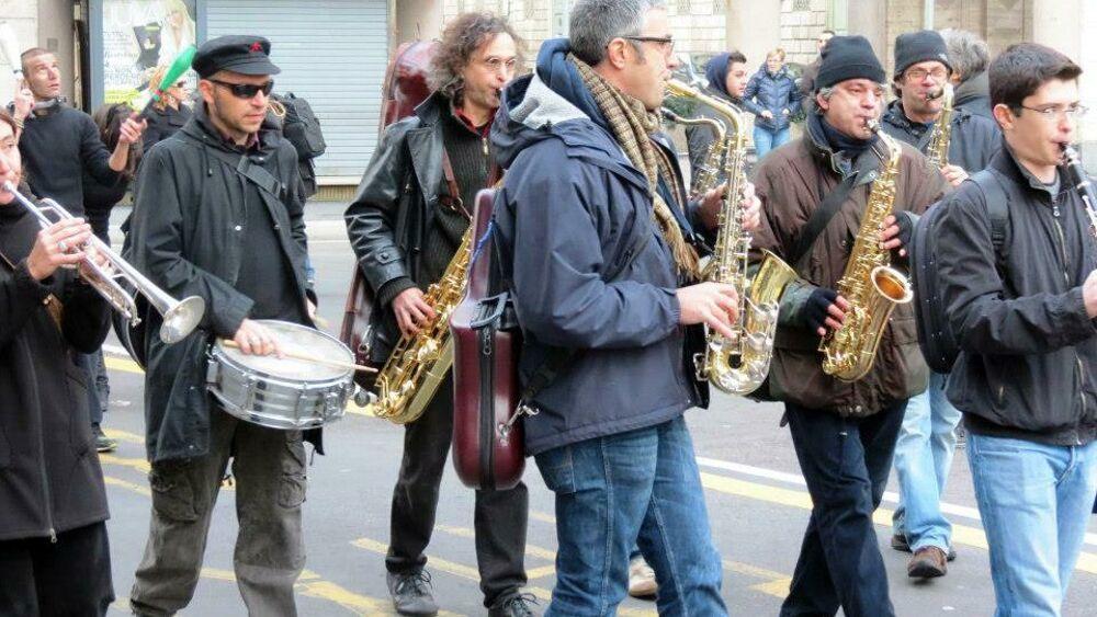Milano Banda Ottoni a scoppio