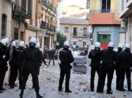 Proteste a Linares contro le violenze di due poliziotti