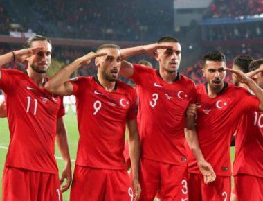 Turchia Military-salute