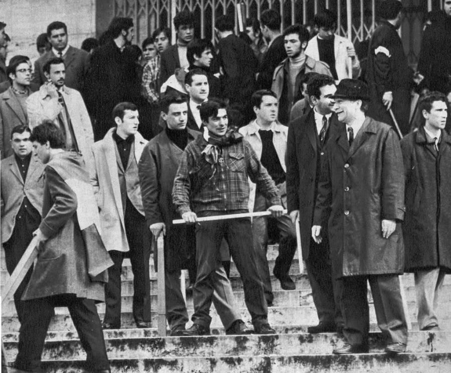 roma universtà fascisti almirante
