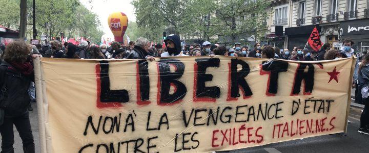 libertà esuli - parigi 1 maggio