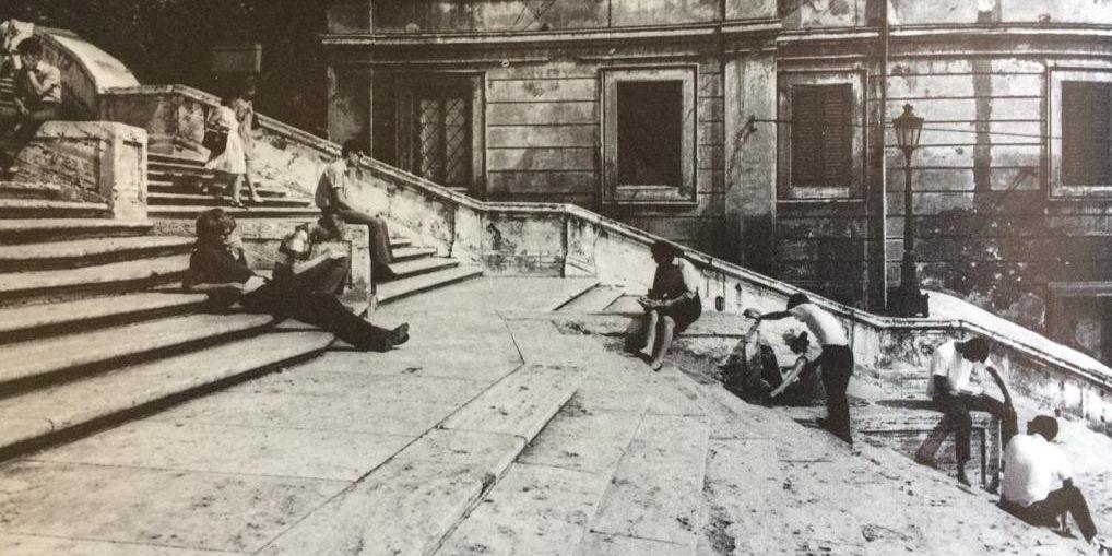 foto tratta da Il Quartiere Barocco di Roma, Italo Insolera (Automobile Club d'Italia), foto di Sarah Gainsforth